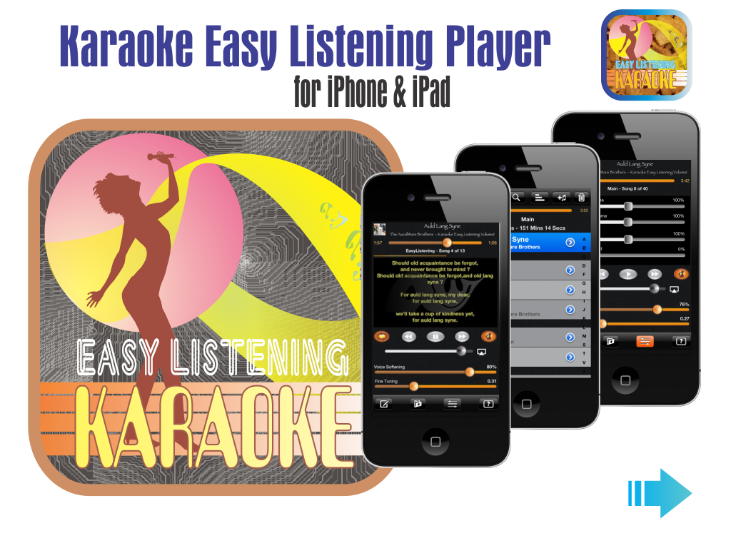 Karaoke Easy Listening Player App
